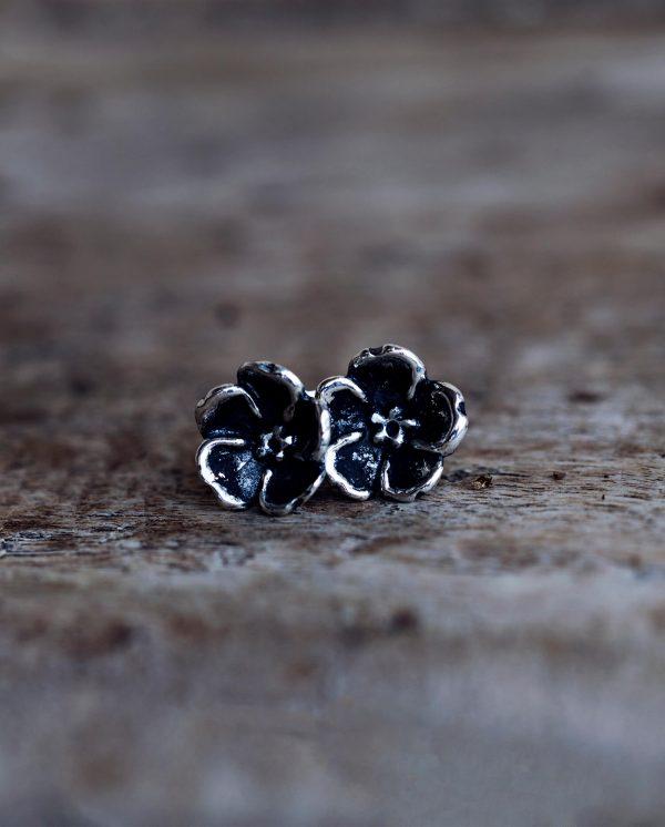 orecchini a fiore