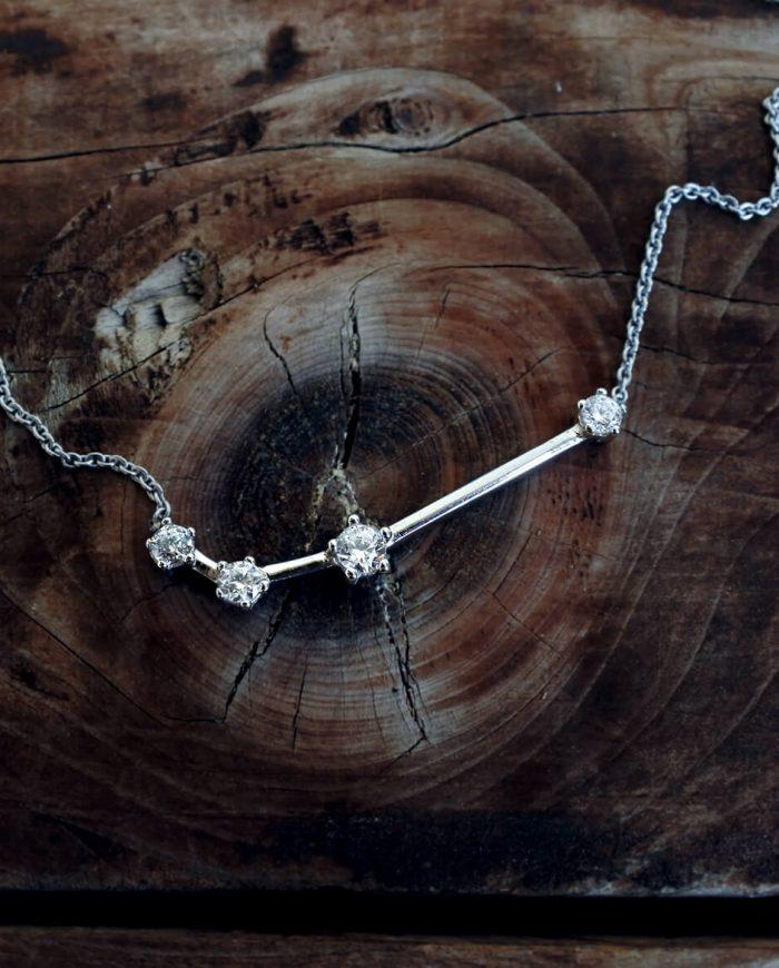 collana costellazione segno zodiacale ariete