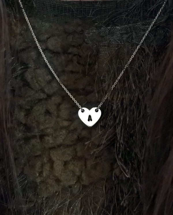 collana ciondolo cuore