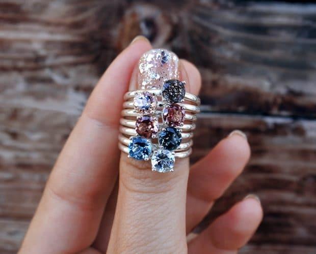 Come pulire un anello con pietra